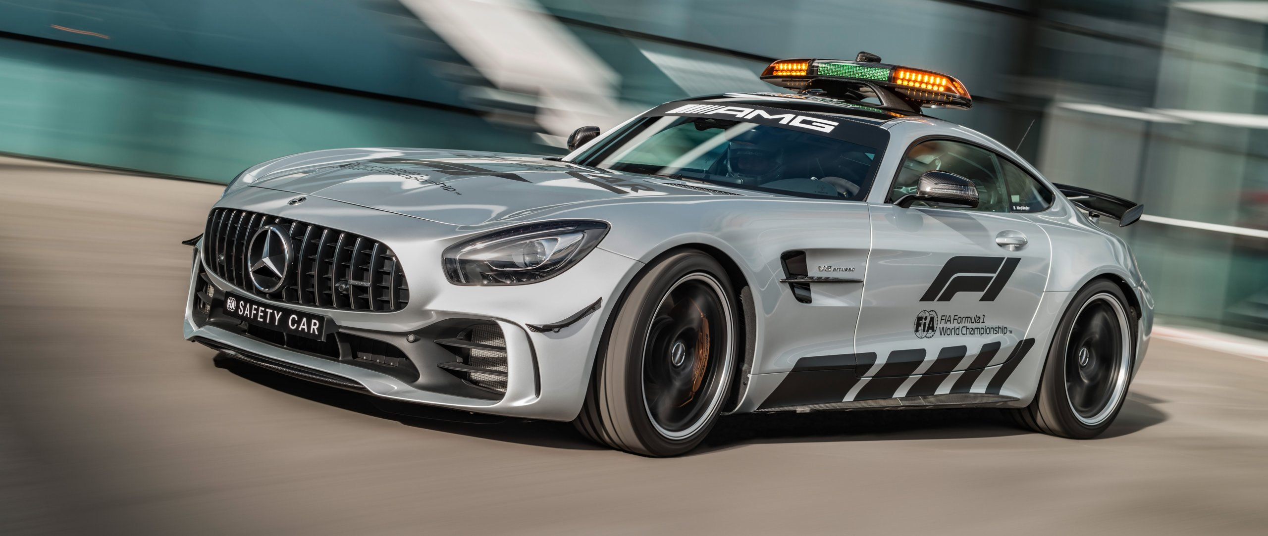 News Introducing The Most Powerful F1 Safety Car Ever