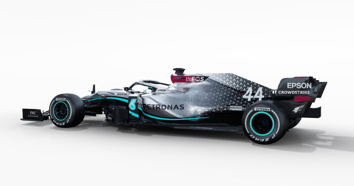 M226202 Mercedes-AMG F1 W11 EQ Performance  - Render