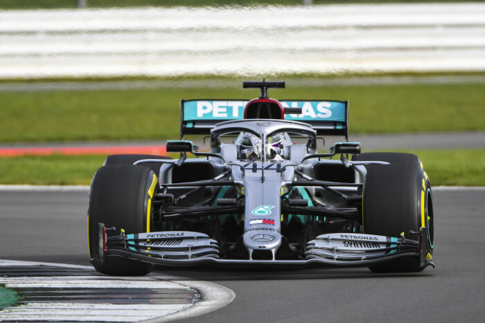 M226374 Mercedes-AMG F1 W11 EQ Performance Shakedown - LAT Images