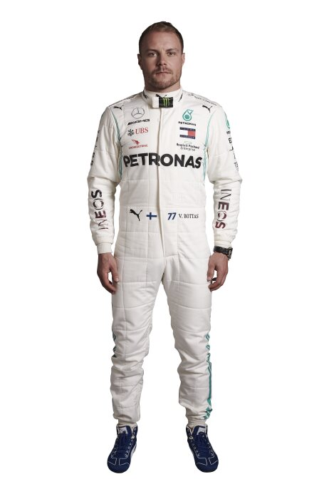 M230316 Collateral Shoot - Drivers - Valtteri Bottas - Cut Out
