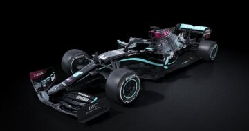 Silver Arrows return to racing with renewed purpose. Lewis Hamilton's F1 car.