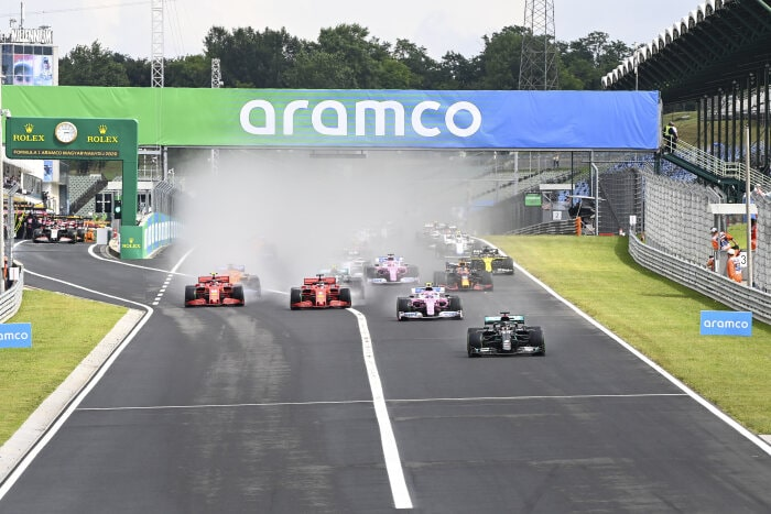 M236020 2020 Hungarian Grand Prix, Sunday - LAT Images